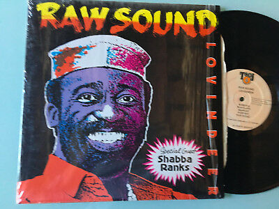 LP Jamaica  1991 MINT  Lovindeer  With Special Guest Shabba Ranks ‎– Raw Sound