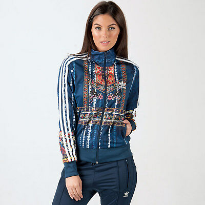 Womens adidas Originals Womens Cirandeira Firebird Track Jacket Multi colour - 8