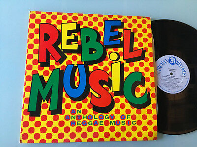 2 LP UK 1979  Various ‎– Rebel Music - An Anthology Of Reggae Music Label: Troja