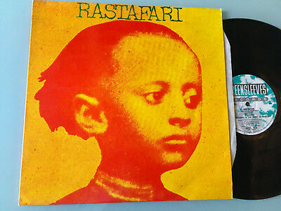 LP   UK 1990   Ras Michael & The Sons Of Negus ‎– Rastafari Label: Greensleeves