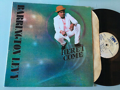 LP  JAMAICA  Barrington Levy ‎– Here I Come Label: Time 1 Records ‎– TRLP 003