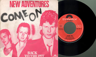 New adventures - Come on/Back to the pit