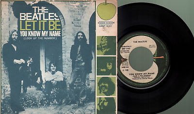 Beatles - Let it be/You know my name