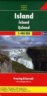 Iceland Road Map (Country Road & Touring) (Map), Freytag & Berndt, 9783707904512