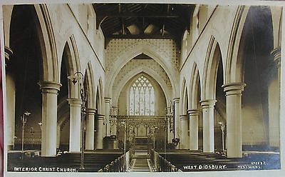 The Interior Of Christ Church Didsbury Manchester Lancashire Early Rp Pc