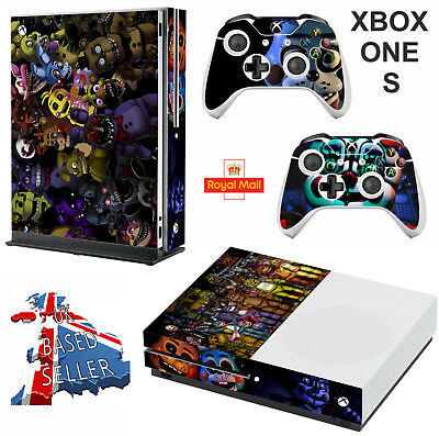 FIVE 5 NIGHTS AT FREDDY,S  xbox one S Decals skins wrap vinyl stickers