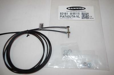 Banner Fiber Optic Sensor    Model#  Piat43Uta-Vl   (2Ea.)   New!