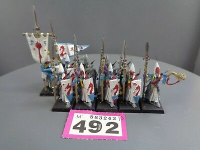 Warhammer Age of Sigmar High Elves Lothern Seaguard 492