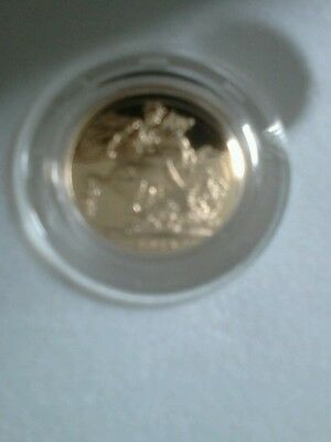 Royal Mint 2014 Royal Birthday Proof Sovereign