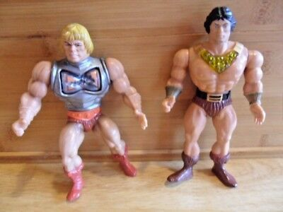 Vintage 1983 Masters Of The Universe By Mattell He Man And Blackstar