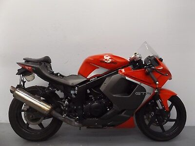 2016 Hyosung Gt125 R Rc Gt125Rc Damaged Spares Or Repair **no Reserve** (12998)