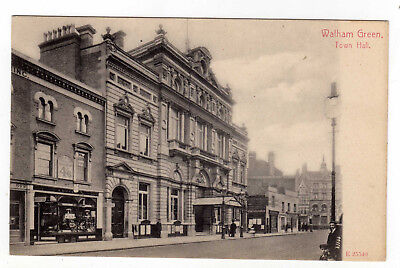 London, S.w.,  Walham Green, Town Hall, Shop Fronts