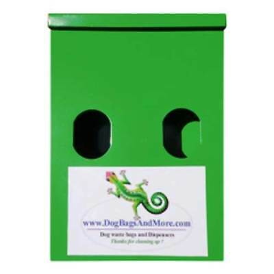2 Roll Dog Waste Bag Dispenser + 4000 Biodegradable Bags + 1 Yellow Sign #116