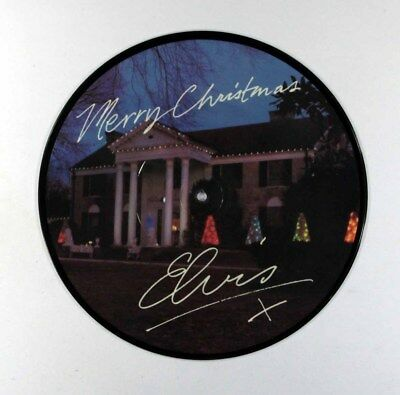 "Elvis Presley - Merry Christmas (UK Vinyl 10"" Picture Disc - 3 Tracks)"