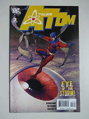 All New Atom   Lot of 3   High Grade  Vf/NM     John Byrne    Gail Simone