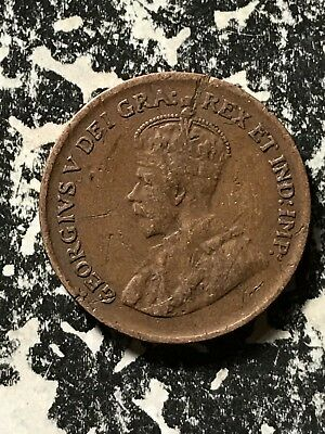1929 Canada Small Cent Lot#X232