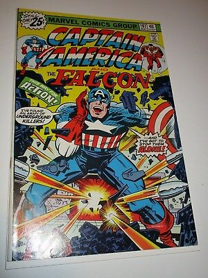 Captain America #197  VF+ 1976 Bronze Age Key Issue By Jack Kirby