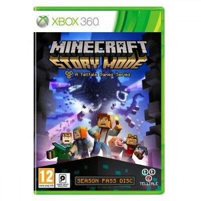 (Pre-Owned) Minecraft Story Mode A Telltale Games Series Xbox 360 Game Used -...