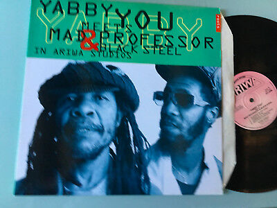 LP   UK 1993 M  Yabby You Meets Mad Professor & Black Steel ‎– In Ariwa Studios