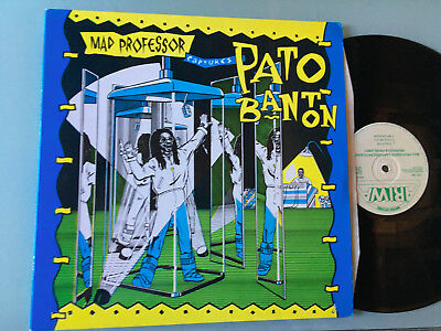 LP   UK MINT  Mad Professor & Pato Banton ‎– Mad Professor Captures Pato Banton