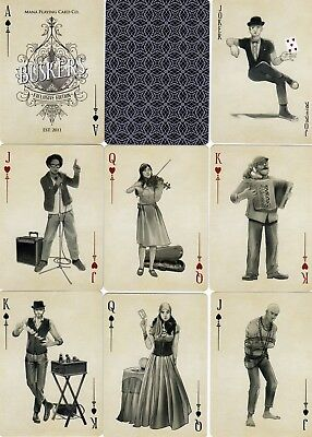 "SUPERB PACK ""Bicycle Type - Buskers (Rev = Black) (SUPERB CARDS)"" Playing Cards"