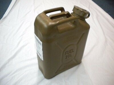 Scepter Us Military Fuel Can Gas Jerry Can 5 Gal 20L - Green