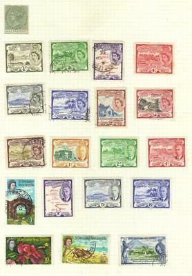St Kitts-Nevis  3 Pages Mint/used Completely Unchecked