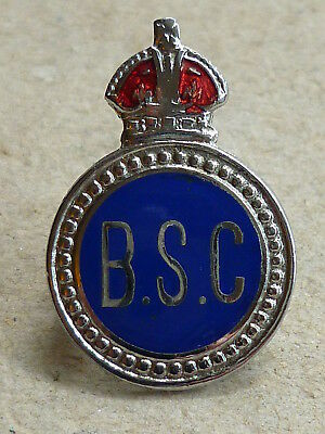 Unknown World War Two Home Front Enamel Badge Special Constable Birmingham?