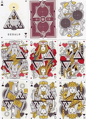 "SUPERB PACK ""Bicycle Type - Dedalo Illusionists Deck (SUPERB)"" Playing Cards"
