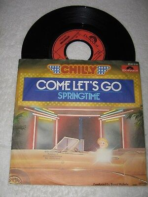 Single: Chilly - Come let's go, 1980, 1,--