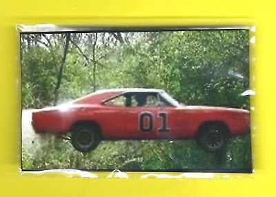 DUKES of HAZARD - 79 DODGE CHARGER GENERAL LEE IN MID-FLIGHT - MAGNET ! toolbox