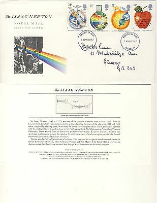 1987 - Sir Isaac Newton - 300th Anniv of Mathematica - First Day Cover - #040