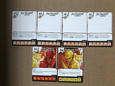 DC COMICS Marvel Dice Masters SPEEDSTERS Monthly Op Kit lot 6 Promo barry allen