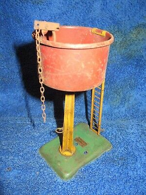 Hornby O gauge tinplate water tower for renovation