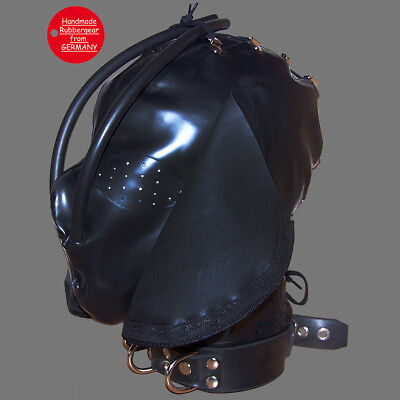 Latex Rubber Gum Studio Mask with lacing - custom-made - x1