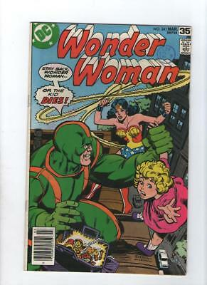 Dc Comic Wonder Woman no 241 March 1978 35 c USA