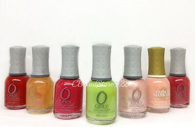 On Sale - ORLY Nail Lacquer 0.6oz/18ml - Pick Any Color - Series 3