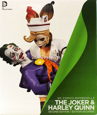 DC Collectibles DC Comics Bombshells The Joker and Harley Quinn 2nd Edition USA