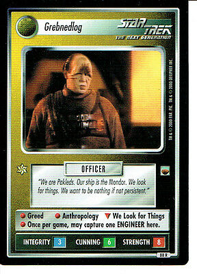 Star Trek Ccg Trouble With Tribbles Rare Card Grebnedlog