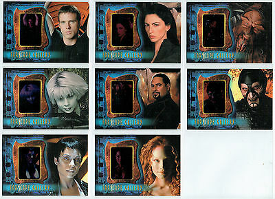 Farscape Season Four Complete Set Of 8 Gallery Cards