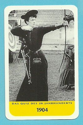 Archery 1904 Olympics Women Cool Collector Card from Europe