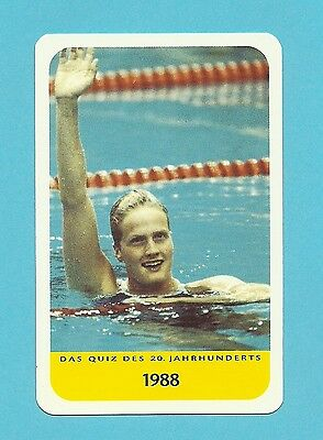 Kristin Otto Olympics Swimming Swimmer Cool Collector Card Europe Look!
