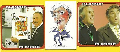 Bruce Forsyth British TV Actor Fab Card LOT Play Your Cards Right You Bet A
