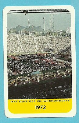 Olympics 1972  Cool Collector Card Europe Look!