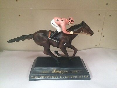 Black Caviar Horse Racing 25 Wins Commemorative Statue Peter Moody Luke Nolen