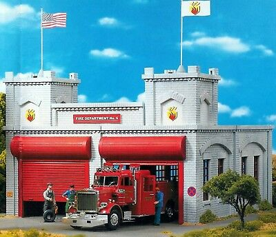 PIKO FIRE DEPTARTMENT STATION No.6   G Scale Building Kit # 62242  New in Box
