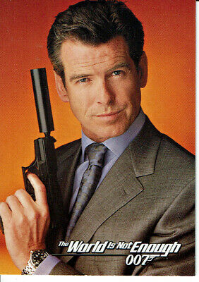 James Bond The World Is Not Enough  Promotional Card Dw-1