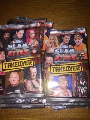 Slam Attax Takeover 24 Sealed Packets