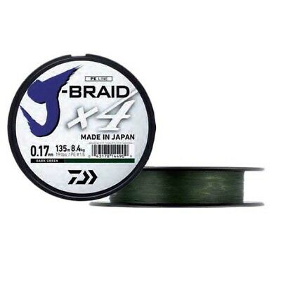 Daiwa Jbraid 4 Braid 450 Trenzados