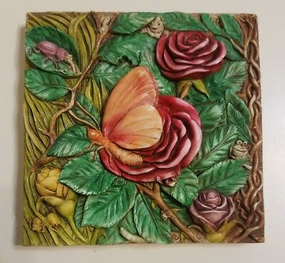 Harmony Kingdom Byron's Secret Garden Mayfly Madame Picturesque Tile